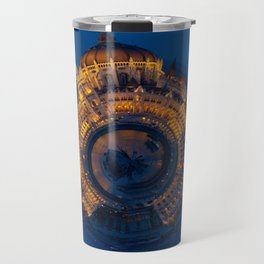 Tiny World of the Hungarian Parliament in Budapest Travel Mug