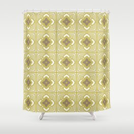Mustard Garden Shower Curtain