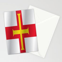 Flag of Guernsey Stationery Cards