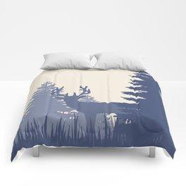 Buck in the Woods Comforters