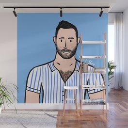 Beard Boy: Remi Wall Mural
