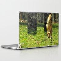 run Laptop & iPad Skins featuring Run by Leah Kasony