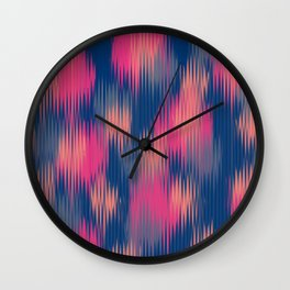 Ribbed Wall Clock