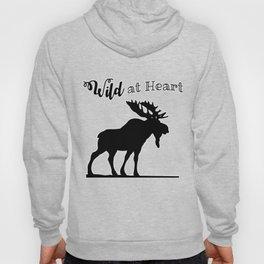 Wild at Heart-Moose Hoody