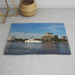 City Across The River Rug