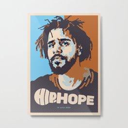 Mr.Cole ( HIP-HOPE Series ) Metal Print