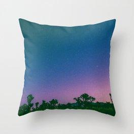 SKYFALL - Joshua Tree Throw Pillow