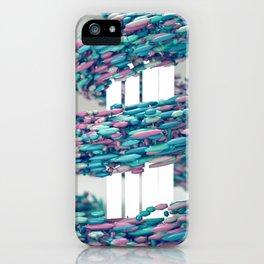 Hyper Pastel Swoop iPhone Case