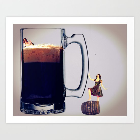 MixMotion: Beer and Cider Art Print