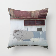 Other Side of the Tracks Throw Pillow