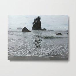Coastal Islands, 2nd Beach, Olympic National Park, La Push, Washington Metal Print