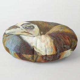 "Amedeo Modigliani ""Portrait of Maude Abrantes"" Floor Pillow"