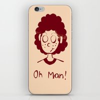 himym iPhone & iPod Skins featuring The curse of the Blitz by Chiaris