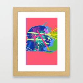 Share your Vision Framed Art Print