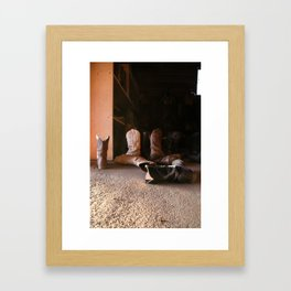 The Quiet Wild West Framed Art Print