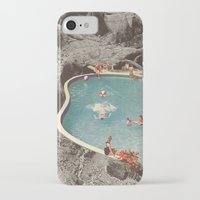eddie vedder iPhone & iPod Cases featuring is this the place that they call paradise? by Jesse Treece