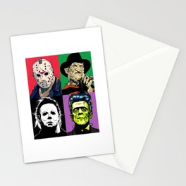 Horror Pop Art Stationery Cards