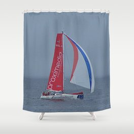 #42 Transat Québec Saint-Malo 2012 Shower Curtain