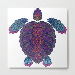 Alebrije Turtle 2 Metal Print