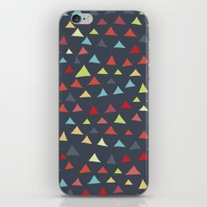 mod multi colored triangles iPhone Skin