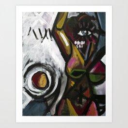 Untitled (modernist piece 01) Art Print