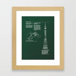 Proton Page Framed Art Print