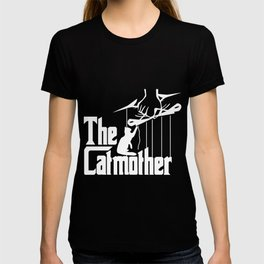 The Catmother Funny Cat Lovers design Gift for Woman T-shirt