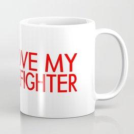 Firefighter: I Love My Firefighter (Florian Cross) Coffee Mug