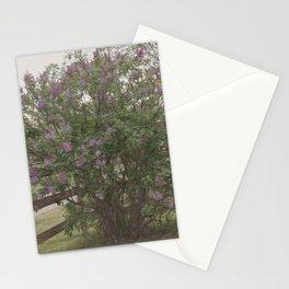 Lilac Bush Stationery Cards
