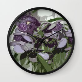 Orchid_2014_1203 Wall Clock