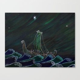 Starlight Voyagers Canvas Print