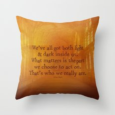 HARRY POTTER // SIRIUS BLACK Throw Pillow