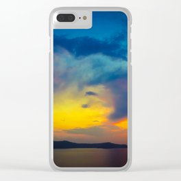My sunset Clear iPhone Case