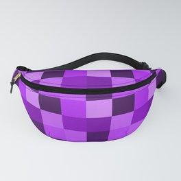 Purple pixels Fanny Pack