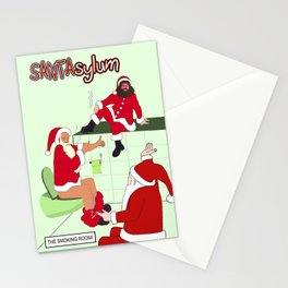 SANTAsylum - Smoking Room Stationery Cards