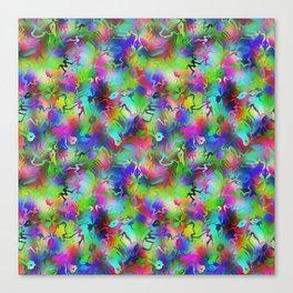 Electric Rainbow Shocker Canvas Print