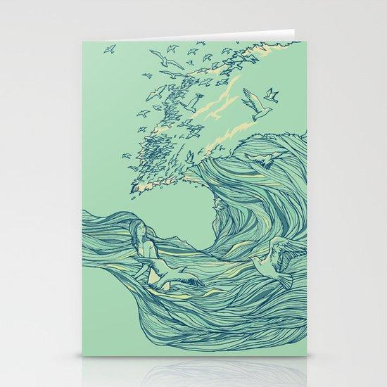 Ocean Breath Stationery Cards