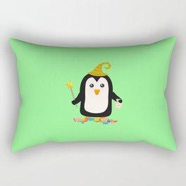 Happy Halloween Witch Penguin T-Shirt Dghgg Rectangular Pillow