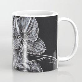 Silver Orchid Coffee Mug