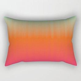 Emerald orange fuchsia gradient Rectangular Pillow