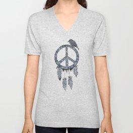 A dreamcatcher for peace Unisex V-Neck