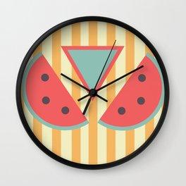 Mmm... watermelon Wall Clock