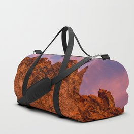 Sunrise Glow - Valley of Fire State Park Duffle Bag