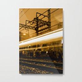 Tokyo railway Metal Print