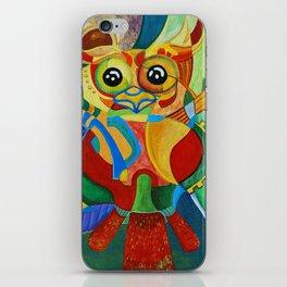 Rainbow Owl iPhone Skin
