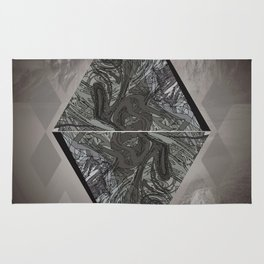 Diamon Abstract in Nature Rug
