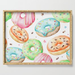 Donut Pattern Serving Tray
