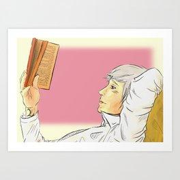 Will's book thief Art Print