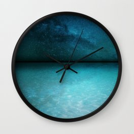 Night Swimming Wall Clock