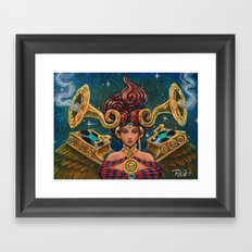 Live Painting: STILLDREAM Framed Art Print
